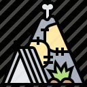 house, prehistoric, primitive, shelter, tent icon
