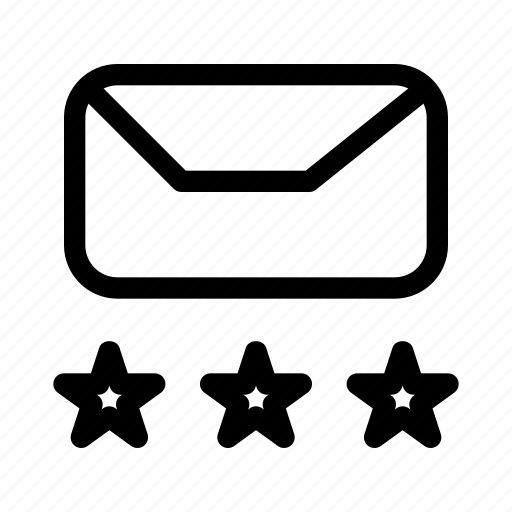best, expert, mail, quality, star, support icon