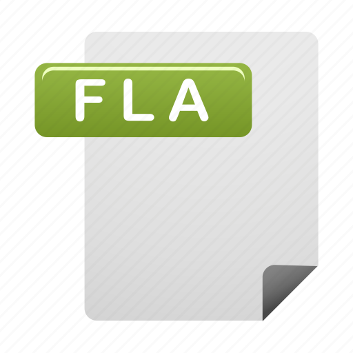 document, documents, file, files, fla, format icon