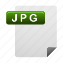 document, documents, file, files, format, jpg icon