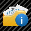 folder, info, open, document, documents, file, files