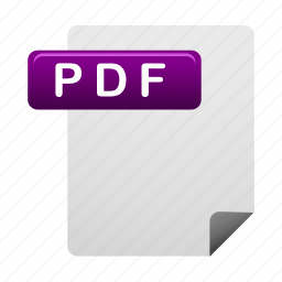document, documents, file, files, format, formats, pdf icon