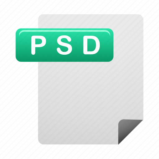 document, documents, file, files, format, psd icon