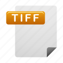 document, documents, file, files, format, tiff icon