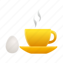 breakfast, egg, food icon