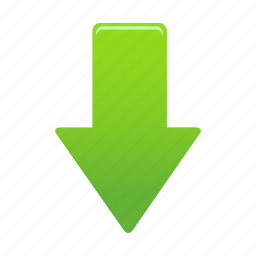 arrow, arrows, direction, down, download, next icon