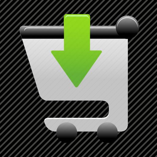 add, buy, cart, insert, shopping, shopping cart icon