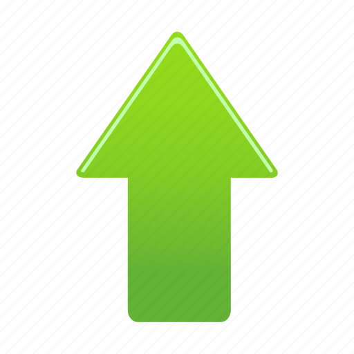 arrow, arrows, direction, up, upload icon