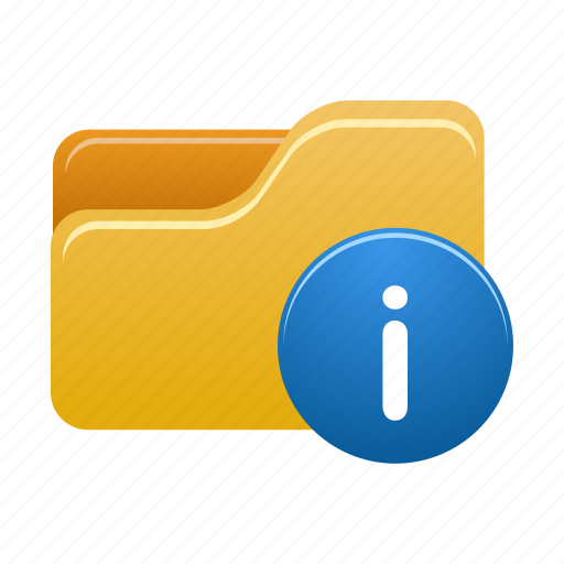 document, file, files, folder, info, information icon
