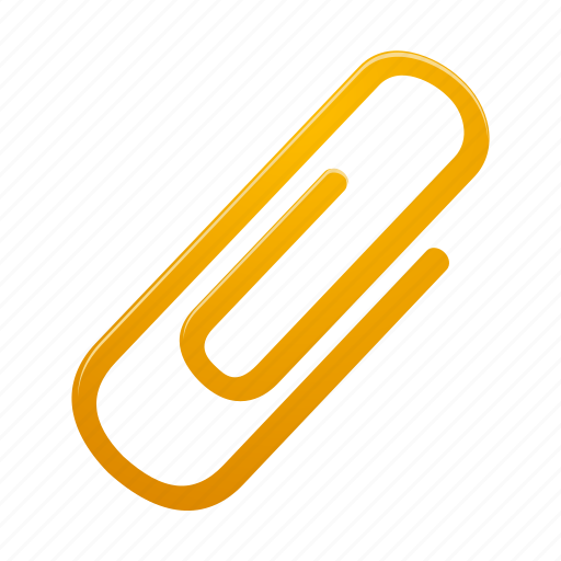 Attachment, attach, clip, paperclip, office icon - Download on Iconfinder