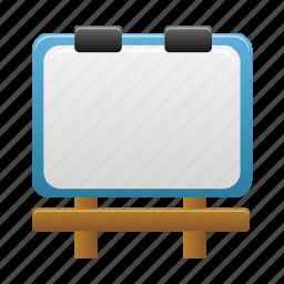 billboard, board, presentation, signboard icon