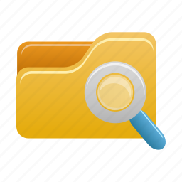 explorer, file, find, folder, search icon