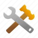 maintenance, building, construction, options, settings, tool, tools