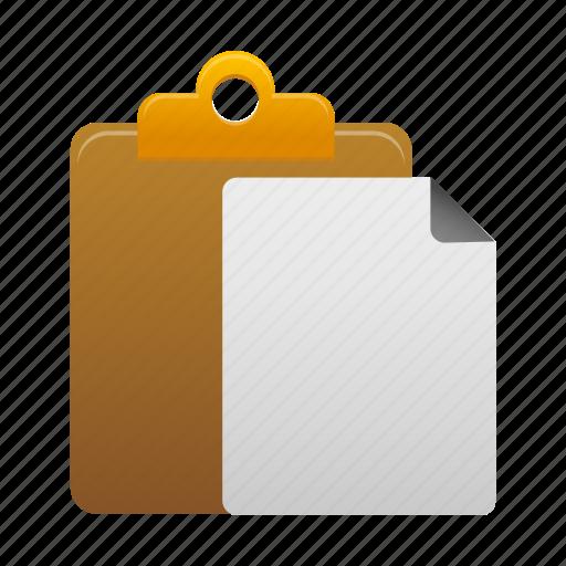 checklist, clipboard, copy, duplicate, files, paste icon