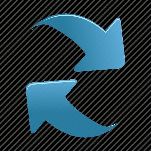 arrow, arrows, refresh icon