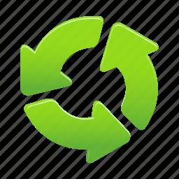 arrow, arrows, recycle, rules icon