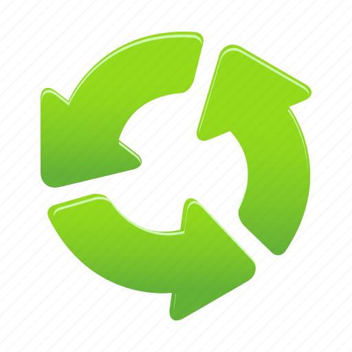 arrow, arrows, recycle, rules icon