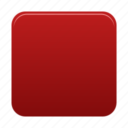 media, player, red, shape, square, stop icon