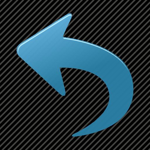 arrows, back, direction, left, previous, undo icon