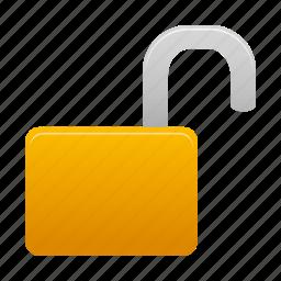 open, unlock, unlocked icon