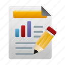 analytics, custom, data, diagram, report, reports, statistics icon