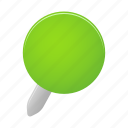 green, map, marker, pin icon