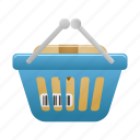 basket, buy, cart, ecommerce, full, shop, shopping icon
