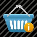 basket, info, shopping, buy, cart
