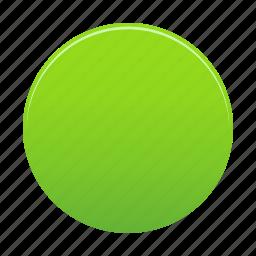 circle, green, round, shape, trafficlight icon