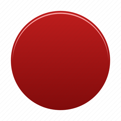 circle, red, round, shape, sign, trafficlight icon