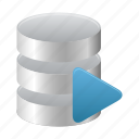 database, runner, sql icon