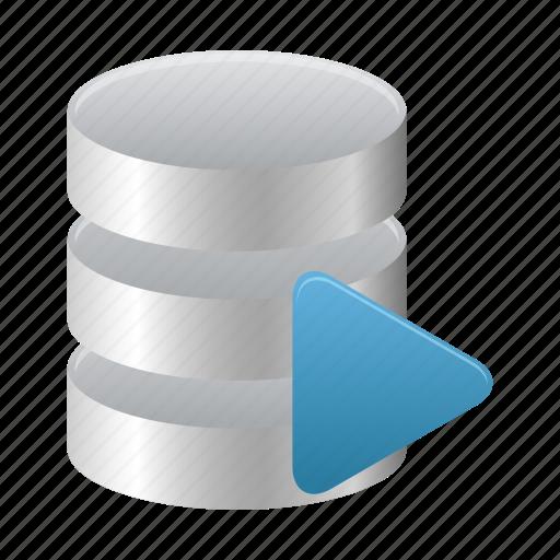 database, runner, sql icon