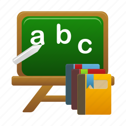 book, courses, education, learning, school, study icon