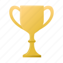 cup, gold, medal, prize, trophy, winner icon