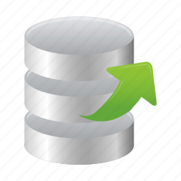 data, database, extract, object icon