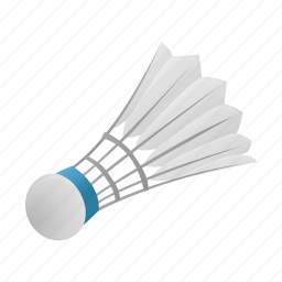 play, shuttlecock, sport, sports icon