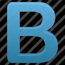 b, blue, letter, letters