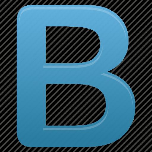 b, blue, letter, letters icon