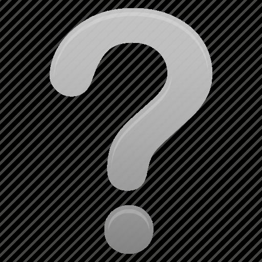 faq, grey, help, mark, question, support icon