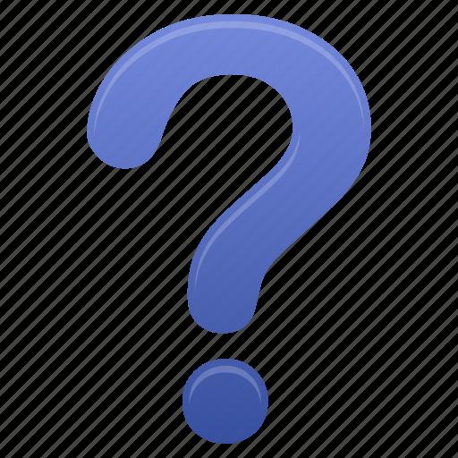 faq, help, mark, purple, question, support icon
