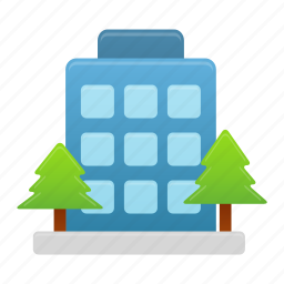 building, business, company, construction, office icon