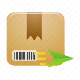 box, deliver, delivery, ecommerce, package, shipping icon