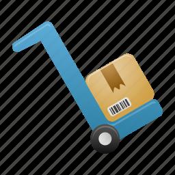 delivery, forklift, shipping, shop, transport, transportation icon