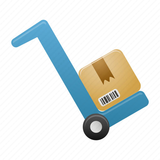 delivery, forklift, shipping, shop, transport, transportation icon