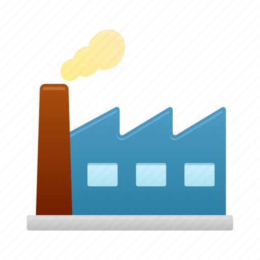 building, construction, factory, industry icon