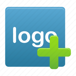add, blue, create, logo, new, plus, sign icon