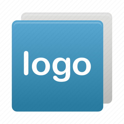 blue, logo, logos, sign, square icon