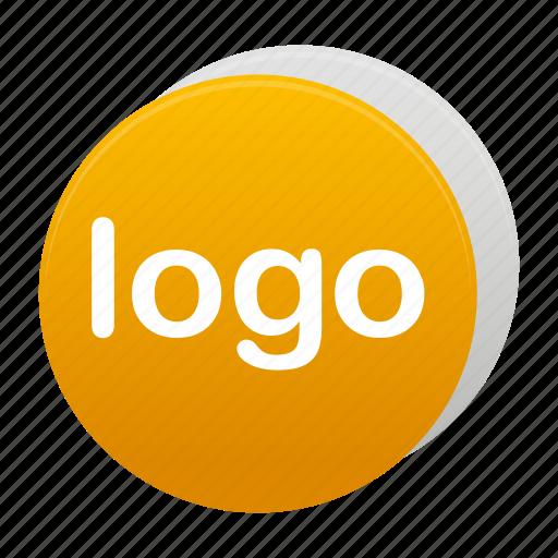 logo, logos, round, sign, yellow icon
