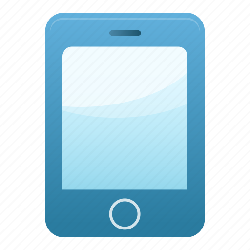 blue, call, iphone, message, mobile, phone, smartphone icon