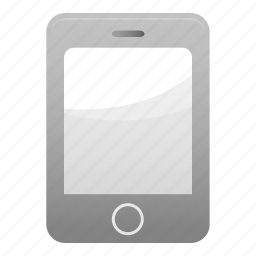 call, contact, grey, iphone, mobile, phone, smartphone icon